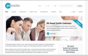 Event Management Website Sample Web Design