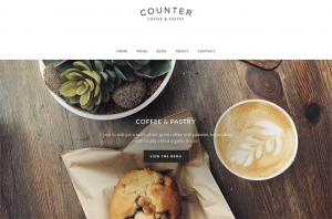 Pastry Shop Website Sample Web Design