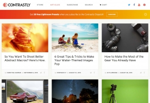 Contrastly Website designers photography