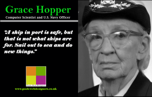 Website building Grace hopper